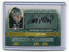 2012-13 Between The Pipes Autographs #AAN Antti Niemi Star of the Game