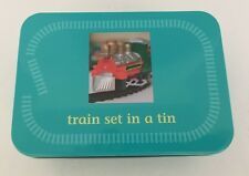 Train Set In A Tin - Apples To Pears Ltd. Battery Operated-Includes Track - U.K.