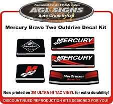 Mercury Bravo two Outdrive Replacement Decal Kit   Mercruiser
