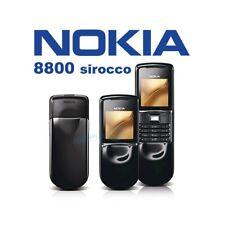 Phone Mobile Phone Nokia 8800 Sirocco Black Black Gsm Luxury Phone