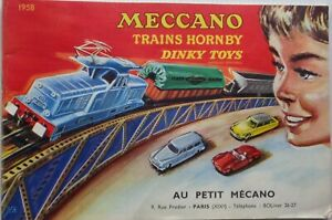 DINKY Toys / Hornby Catalogue Trains Hornby / Meccano 1958 Genuine
