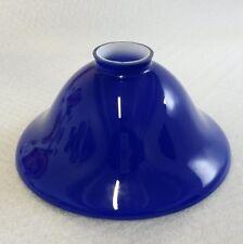Paralumi blu in vetro per l'illuminazione da interno