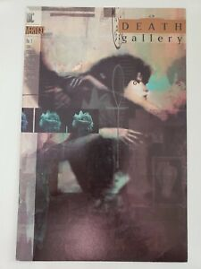 DEATH GALLERY #1 ONE-SHOT SPECIAL (1994) DC VERTIGO SANDMAN! DAVE McKEAN COVER!