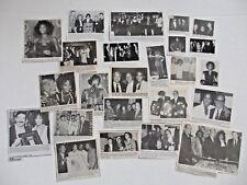 WHITNEY HOUSTON magazine clippings LOT of 24 rare 1980's - 1990's