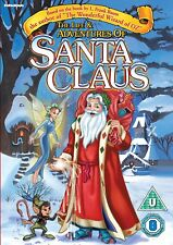 DVD:THE LIFE AND ADVENTURES OF SANTA CLAUS - NEW Region 2 UK