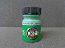 1 Fluid Oz. Jar Burlington Northern Green Acrylic Model Paint - Badger #16-26