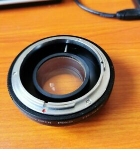 Speed Booster Focal Reducer Canon FD FL 35mm Lens to Micro 4/3 M43 Panasonic