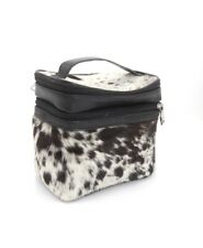 Leather Zipper Makeup Cosmetic Pouch Travel Bag Make Up Organizer Beauty Case