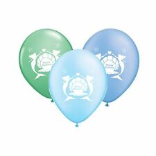 "Happy Birthday 10"" Mermaid Latex Party Decor Balloons Assorted pack of 10"