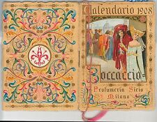 CALENDARIETTO d'epoca PROFUMATO  - Profumeria SIRIO 1908