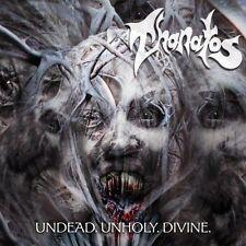 Thanatos - Undead.Unholy.Divine CD 2014 reissue death metal bonus track