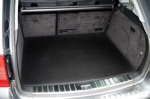 BOOT MAT FOR VAUXHALL ZAFIRA TOURER WHEN 5 SEATS UP 2012 ON FITTED BLACK CARPET