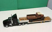 M1:87 Herpa-Modelle, US-Truck Kenworth T600, mit Oldtimer-Truck