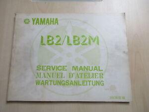 Yamaha LB2 LB2M Manual Manual de Operación Guía Del Conductor 1F0-28197-80