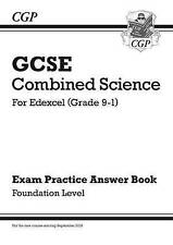 CGP GCSE Combined Science For Edexcel Grade 9-1 Exam Practice Answers Foundation