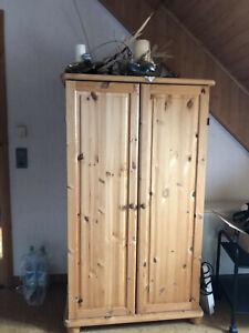 Kiefer Kleiderschrank, 2-türig, Höhe 190 cm, 3 Schubladen