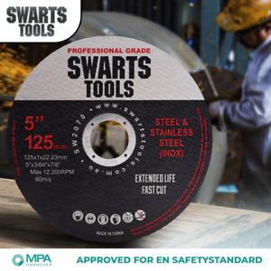 "5"" 125mm Cutting Discs Wheel Thin Angle Grinder Cut Off Metal Steel Flap"