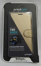 PRODIGEE PHONE CASE COVER WALLEGEE+ FOR SAMSUNG GALAXY S6 EDGE RRP:$49.95 GOLD