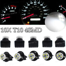 10x White T10 4SMD LED Instrument Panel Lights Dashboard Lamp for Toyota Tacoma