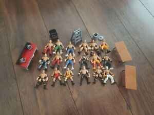 WWE Micro Aggression Figures and Accessories