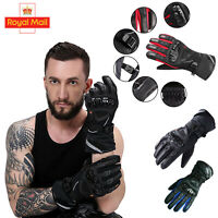 Carbon Fiber Knuckle Protection All Weather Motorbike gloves Sport Thermal glove