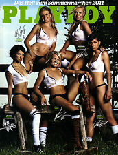 Playboy Juli/07/2011 NATIONALSPIELERINNEN mit Abo-Cover