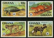 Ghana   1977   Scott # 621-624  Mint Lightly Hinged Set