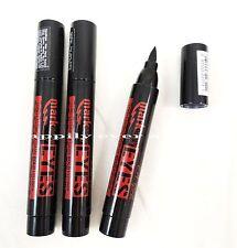 3 PCs L.A Girl Bold BLACK Liquid Eyeliner Pen - Long Lasting Liner Mark my Eyes