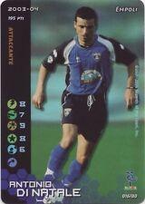 ▲ FOOTBALL CHAMPIONS FOIL ANTONIO DI NATALE EMPOLI 2003-04 ITA