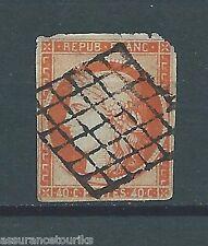 FRANCE - 1850 YT 5 - CÉRÈS 40 c. orange - COTE 500,00 €