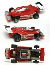 1980 Ideal RarelySee Michelin Ferrari INDY #11 Slot Car Unused Majorette Chassis