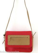 Sergio Tacchini elegante borsa di colore rosso e beige
