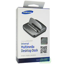 OEM NEW SAMSUNG EDD-D200BEGSTA GALAXY S3 III MULTI MEDIA Desktop Dock RETAIL