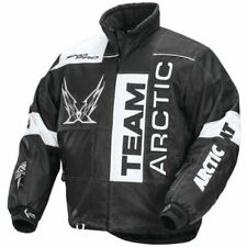 Arctic Cat Men's Throttle Snowmobile Jacket - Black & White - 5250-25_