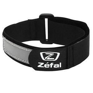 Zefal Doowah Hi Viz Reflective Ankle / Arm Bands / Cycle Trouser Clips