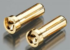 Tq Wire Products 2507 - Male Bullet Connector, 5mm/19mm, Low Profile (2)