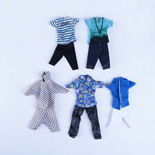 1 pc Casual Suits Clothes Tops Pants For  Boy Friend Ken Dolls LA