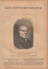 Gabriel García Moreno President of Ecuador JOURNAL COMPLET 16 PAGES 1893