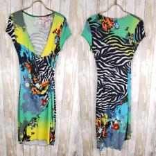 Joseph Ribkoff Women's Floral Animal Print Dress Multi-Color Size 6