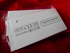 SME MODEL 309 TONE ARM MOUNTING TEMPLATE BRAND NEW SME PART