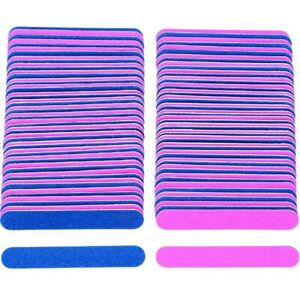 Disposable Nail File Double Sided 180/240 Grit Pedicure Manicure Travel A1 UK