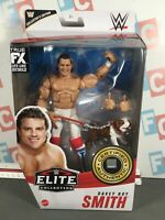 WWE Wrestling Mattel Elite Series 82 British Bulldog Davey Boy Smith Figure Chas