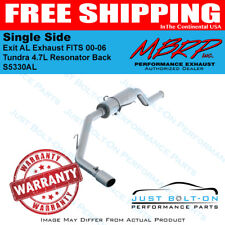 MBRP Single Side Exit AL Exhaust for 2000-06 Tundra 4.7L Resonator Back S5330AL