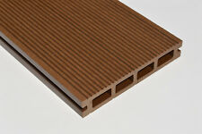 Wood Plastic Composite Gravel Board Dark Brown 150mm x 25mmx 2.2m