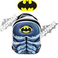 DC BATMAN PRESCHOOL KINDERGARTEN SCHOOL BACKPACK KIDS CHILD TODDLER SHOULDER BAG