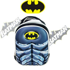 DC BATMAN PRESCHOOL KINDERGARTEN SCHOOL BACKPACK KIDS CHILD TODDLER SHOULDER BAG