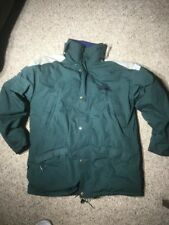 FIRST DOWN EXPEDITION GEAR DOWN JACKET SKI GREEN Medium Exploration Reflective