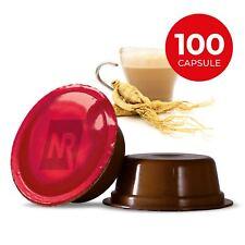 100 Capsule GINSENG LAVAZZA A MODO MIO Cialde Solubili Compatibili Caffe