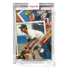 Topps Project 70 Card 575 - 1984/1987 Don Mattingly by Bobby Hundreds -Presale-