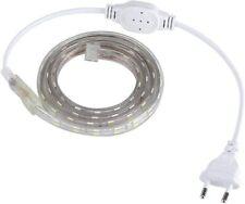 Ruban LED bande 1m flexible étanche pour chambre dressing terrasse 220 V AC